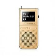 UnisCom MP3 MP3 WMA WAV Bateria Li-on Recarregável