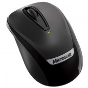 Mouse wireless MICROSOFT Mobile 3000 v2, 1000dpi, negru