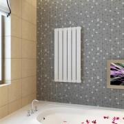 vidaXL Vykurovací panel biely 465 mm x 900