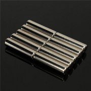 Set Of 10Pcs 5mm x 25mm CYLINDER Rare Earth NdfeB Neodymium Strong Magnets N52