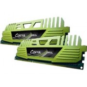 GeIL Memoria RAM 8GB, 2x4GB, PC3-14900, 1866MHz EVO Corsa 9-10-9-28,1.65 V, colore verde