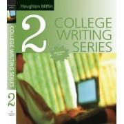 Houghton Mifflin College Writing Series: Bk. 2 by Houghton Mifflin Co