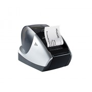 Brother QL570 - Impresora de etiquetas (USB, 300 x 600 dpi, 62 mm), color negro y blanco