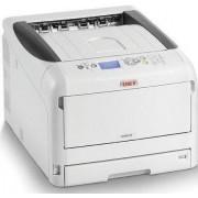 Imprimanta laser color OKI C823dn, A3, 23 ppm, Duplex, Retea, Wireless (Alb)
