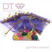 Gold Butterfly (M) organza tasak