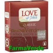 Love Plus Classic Prezervative 3 bucati