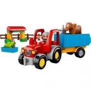 Lego DUPLO 10524 Traktor - Gwarancja terminu lub 50 zł! BEZPŁATNY ODBIÓR: WROCŁAW!