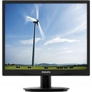 Monitor LED Philips 19S4QAB 19 inch 5ms Black