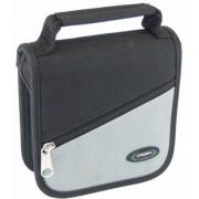 CASESMART CD-Tasche 24er grau-schwarz