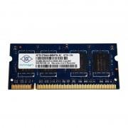 512Mo RAM PC Portable SODIMM NANYA NT512T64UH8B0FN-3C DDR2 PC2-5300S 667MHz CL5