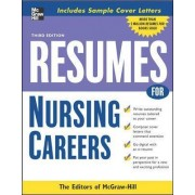 Resumes for Nursing Careers by McGraw-Hill Education