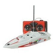 Hotkey® Large RC Boats 4CH High Powered 2.4V Plastic Model Toy Boat RC Speedboat Outdoor Toys