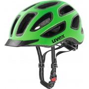 UVEX city e Helmet neon green-black mat 52-57 cm Trekking & City Helme