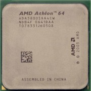 Processeur CPU AMD Athlon 64 3800+ 2.4GHz 512Ko ADA3800IAA4CN Orleans Socket AM2