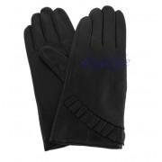 Rękawiczki damskie ze skóry - ciepłe na zimę