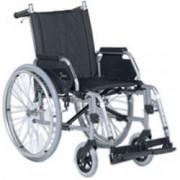sedia a rotelle / carrozzina pieghevole leggera ad autospinta - recli