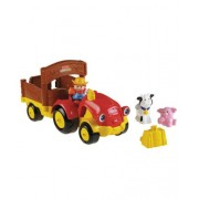 Fisher-Price Little People Tow 'n Pull Tractor - red, one size