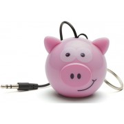 Boxa Portabila KitSound MyDoodle Characters Pig, Jack 3.5mm (Roz)