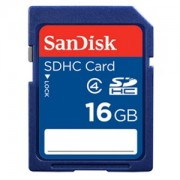 Card memorie SDHC SanDisk 16GB Class 4