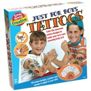 Small World Toys Creative - Just for Boys Tattoos