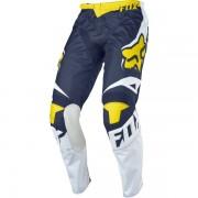 Pantaloni FOX 180 RACE MX16 YELLOW BLUE