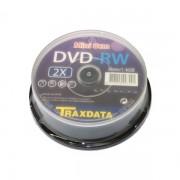 Mini DVD-RW Traxdata (by Ritek) 1.4GB Tarrina 10 pcs