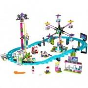 LEGO® Friends Montagne russe în parcul de distracții 41130