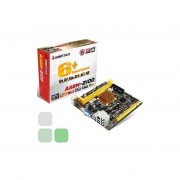 Motherboard Biostar A68N-2100 C Audio Video Red USB 3.0 DDR3 800 1066 1333 1600 Mhz Mini Itx +C+