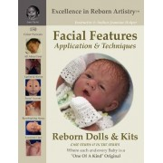 Facial Features for Reborning Dolls & Reborn Doll Kits CS#7 - Excellence in Reborn Artistry Series by Jeannine Holper