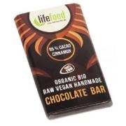 Ciocolata Lifefood Mini Cacao 95% si Scortisoara Raw 15g