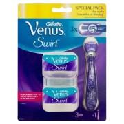 Gillette Venus Swirl Apparaat + 3 mesjes