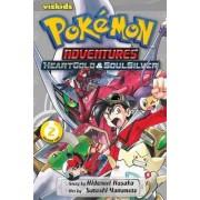 Pokemon Adventures: Heart Gold Soul Silver, Vol. 2 by Hidenori Kusaka