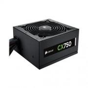 Corsair CP-9020015-NA CX Series CX750 750 Watts Power Supply (Black)