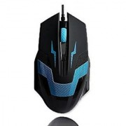 PowerLead Gmic PL001 Professional Gaming Computer Mouse Professional Wired Gaming Gamer Mouse Mice Adjustable DPI Switch Function- Blue