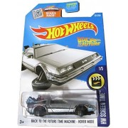 2016 Hot Wheels Screen Time Hover Mode Back To the Future Time Machine Delorean by Mattel