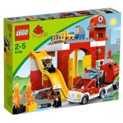 Lego 6168 - Duplo Ville : La Caserne Des Pompiers