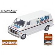 Greenlight Collectibles Anchorman Channel 4 News Team Van (Series 5)