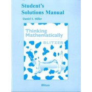 Student Solutions Manual for Thinking Mathematically by Robert F. Blitzer