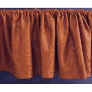 Egysoros antik arany fém rúdkarnis garnitúra, 180cm hosszú, Ág véggel/Cikksz:0940068
