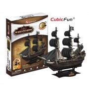 Corabia The Queen Anne's Revenge - Puzzle 3D - 155 de piese