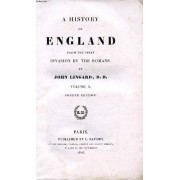 A History Of England From The First Invasion By The Romans, Vol. X