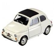 Modèle Réduit - Fiat 500 (1965) - Collection Gold - Echelle 1/18 : Blanc