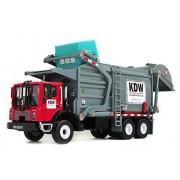 Damara Wheeled Dump Truck Toys Model Car,Red by Damara