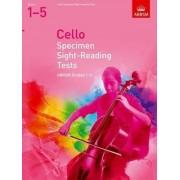 Cello Specimen Sight-Reading Tests, ABRSM Grades 1-5 by ABRSM