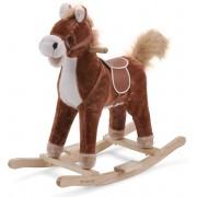 New classic toys Hobbelpaard donkerbruin