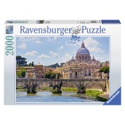Puzzle PODUL SANT ANGELO, ROMA 2000 piese