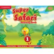 Super Safari Level 1 Activity Book by Herbert Puchta