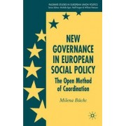 New Governance in European Social Policy by Milena Buchs