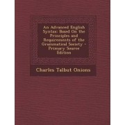 An Advanced English Syntax by Charles Talbut Onions