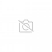 Plaque gravée adhésive SONNETTE + FLECHE Fond BLANC ft 29x100 mm